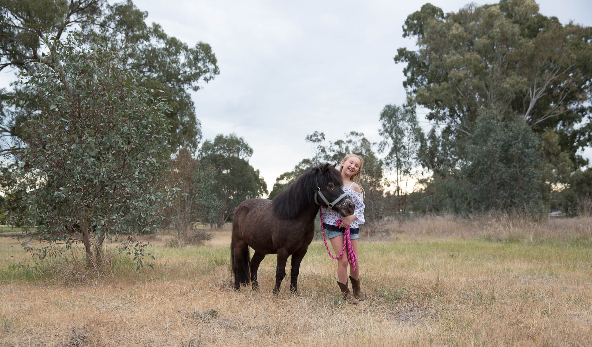 Ruby and Flicka-Kids Photography
